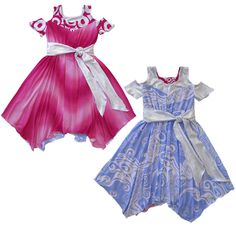Girls reversible dresses by TwirlyGirl®. The Original Reversible Twirly Dress® started the craze & we keep adding even more styles to choose from. Made in the USA. Little Girl Summer Dresses, Girls Spring Dresses, Elegant Dresses, Casual Dresses, Superhero Dress, American Made Clothing, Reversible Dress, Kids Fashion, Fashion Outfits