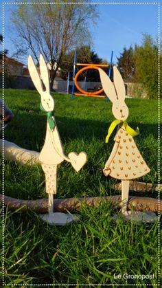 Le Gronopost: Chantournage....Pâques ....toujours....