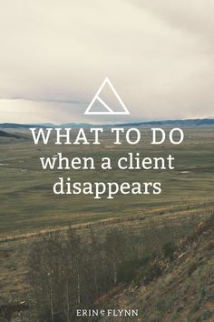 It happens. You've been moving along with a project, and everything's going alright but then the client stops responding.  Nothing.  Crickets.  No response to emails, nothing to phone calls, it's like she fell off the earth.  What do you do?   Click through to learn what to do when a client disappears.