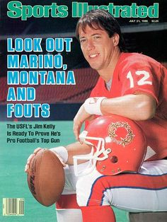 Sports Illustrated Magazine July 21 1986 USFL Jim Kelly Top Gun Quarterback - Advintage Plus Buffalo Bills Football, Pro Football Teams, Football Tops, Football Humor, Football Uniforms, Nfl News, Sports News, Sports Magazine Covers