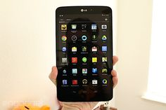 LG G Pad 8.3 Google Play edition hands-on. The first tablet to ship with stock Android (meaning no manufacturer skins or changes) 4.4 KitKat.