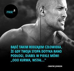 Na dobry początek dnia Sad Quotes, Inspirational Quotes, Dwayne Johnson, Life Rules, Life Motivation, Some Words, Wtf Funny, Life Lessons, Einstein