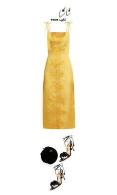 """""""The Perfect Prom Night'"""" by dianefantasy ❤ liked on Polyvore featuring The Vampire's Wife, Gianvito Rossi, Charlotte Olympia, PROMNIGHT, polyvorecommunity and polyvoreeditorial"""