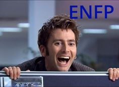 Even if the Tenth Doctor isn't an ENFP, this is perfectly representative of my reaction to hearing anything that piques my interest. Or if anyone mentions something I like/love/am obsessed with. XD