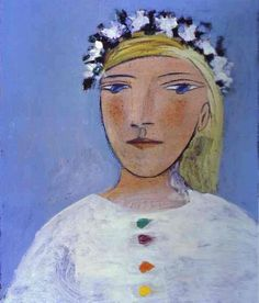 """Pablo Picasso: """"Marie-Therese Walter"""",1937."""