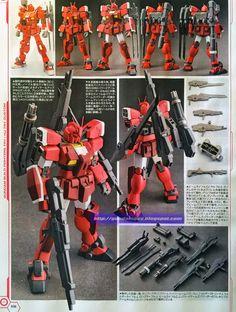 Gundam Family: HGBF 1/144 Gundam Amazing Red Warrior J Custom Build Gundam Art, Amazing Red, Custom Gundam, Gundam Model, Model Kits, Video Game Art, Robots, Action Figures, Fan Art