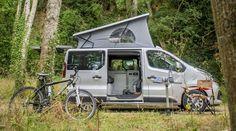 Van aménagé - Renault Trafic - Gamme TREK - HANROAD - Bannière