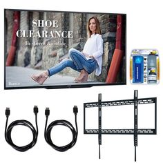 Sharp Commercial LCD Hdtv Display w/ Wall Mount Bundle, Black 70 Inch Tvs, Cable Box, Tv Remote Controls, Tv Reviews, Wall Mounted Tv, Buyers Guide, Cleaning Kit, Audio System, Smart Tv