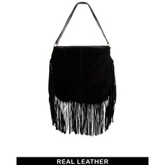 ASOS Suede Fringe Shoulder Bag