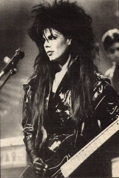 Patricia Morrison of The Sisters Of Mercy 1987