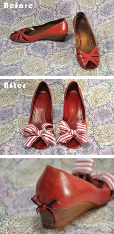 15 Shoe Makeovers! So darn cute!