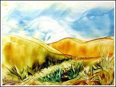 Enkaustik- Landschaften 2 / Encaustic Landscapes 2