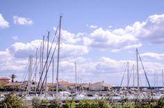 Una veduta del Porto della Maremma