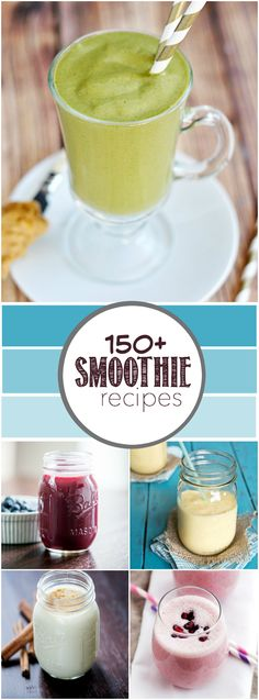 smoothie recipes smoothies напитки, рецепты et еда Yummy Smoothies, Juice Smoothie, Smoothie Drinks, Detox Drinks, Simple Smoothies, Vitamix Juice, Refreshing Drinks, Yummy Drinks, Gourmet