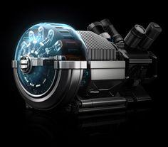 Electric Generator concept by Rashit Askarov