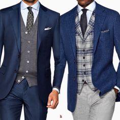Have a vested interest, knit or woven! [mens fashion] #fashion // #men // #mensfashion . . . . . der Blog für den Gentleman - www.thegentlemanclub.de/blog