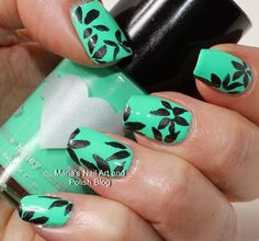 Floral Petal Nail Art