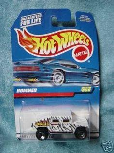 Mattel Hot Wheels 1998 1:64 Scale White & Black Hummer Die Cast Truck Collector #858 by Hot Wheels. $0.01. Mattel Hot Wheels 1998 1:64 Scale White & Black Hummer Die Cast Truck Collector #858