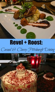 Looking for Pittsburgh restaurants with a lovely atmosphere and creative menu? Revel + Roost in Market Square makes our short list.