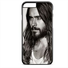 Jared Leto With Beard TATUM-5802 Apple Phonecase Cover For Iphone SE Case