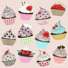 Cupcake par Silsiuwanchai Setsiri