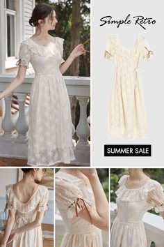 Lace Outfit, Lace Midi Dress, Dress Up, Nyc Fashion, 1950s Fashion, Fashion Outfits, Pretty Outfits, Cute Outfits, Vintage Dresses