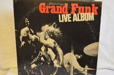 Vintage Double Gatefold Record Grand Funk by FloridaFinders, $6.00