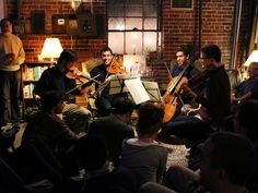 """Groupmuse - order in classical musicians """"Uber, But for Millennials Who Want Orchestras in Their Living Rooms"""""""