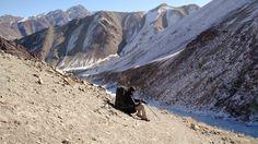 The road to Yurutse in Markha Valley