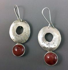 JLK Jewelry-one of a kind handmade art jewelry using ceramic stones as a focal point. Handmade Art, Jewelry Art, Earrings, Ear Rings, Stud Earrings, Ear Jewelry, Pierced Earrings, Hoop Earrings