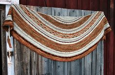Ravelry: Misae shawl / Tuch pattern by Alexandra Wiedmayer - earthly colours