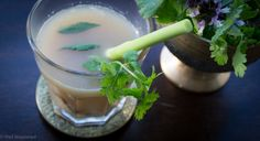 Asian Immune Boosting Broth - ward off winter bugs with this super simple soup at www.wellnourished.com.au
