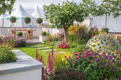 R Space (Show Garden) at RHS Tatton Park Flower Show 2015.
