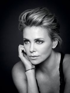 Charlize Theron (1975) - South African and American actress, producer, director, and fashion model. Photo © Andy Gotts