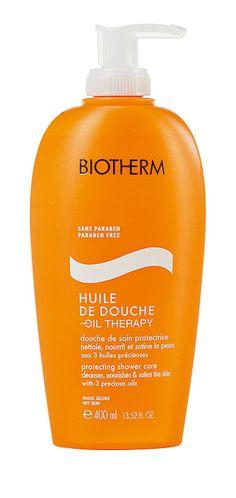Stockmann Beauty. Biotherm Huile de douche - Oil Therapy.Ravitseva suihkuöljy vartalolle. ALE24,90 €(Norm. hinta 30,90 €).