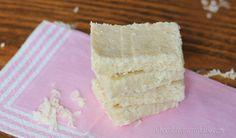 5 Minute Coconut Crack Bars