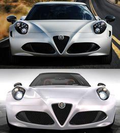 2015 Alfa-Romeo 4C Spider Debuts Welcome Style Enhancements via Classier Headlamps