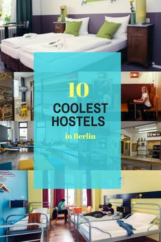 Best Hostels in Berlin: 10 Hippest Places to Stay in German Capital Travel Guides, Travel Tips, Europe Holidays, Berlin Germany, Cheap Travel, Germany Travel, Plan Your Trip, Hostel, Thailand Travel