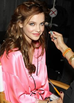 Barbara Palvin backstage @ Victoria's Secret 2012 #fashion #models