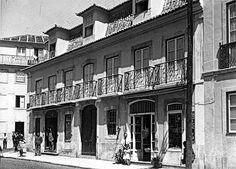 Lisboa de Antigamente: Palacete da Rua das Trinas, 70-80