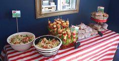 ladybug picnic buffet for parents