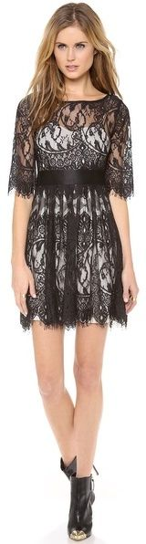 BB Dakota Scallop Lace Dress on shopstyle.com - love this style- ON SALE