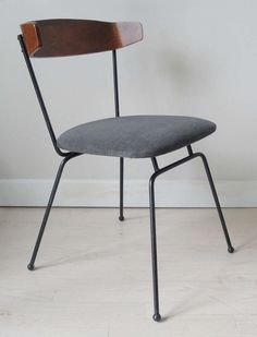 Clifford Pascoe; C#1 Enameled Iron and Bentwood Chair for Modernmasters Inc., 1952.