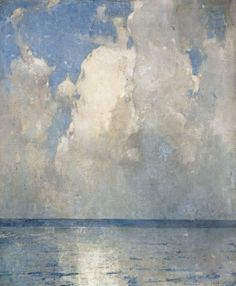 Emil Carlsen Swell and Clouds, 1928