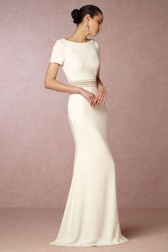BHLDN Alice Gown in  Bride Wedding Dresses at BHLDN