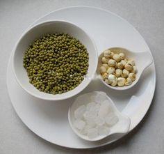 Nguyên liệu nấu chè đậu xanh thơm ngon