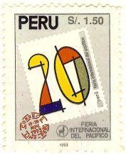 Selos - Stamp Collecting: 1993 - Peru