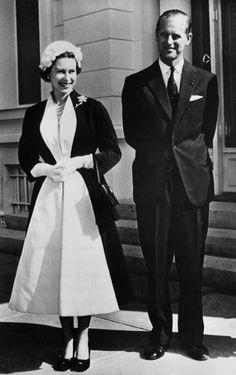 The Guardian-Queen Elizabeth II: 1957: Queen Elizabeth II and Prince Philip