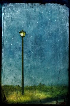 """The Magic Lamp Post"" by Jamie Heiden."