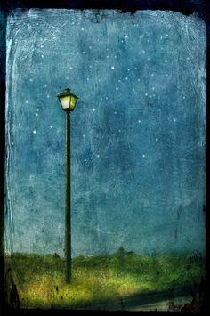 """The Magic Lamp Post"" by Jamie Heiden."